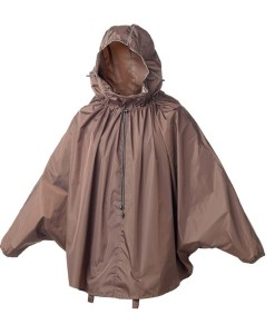 Cambridge_Stowable_rain_cape_brown_1